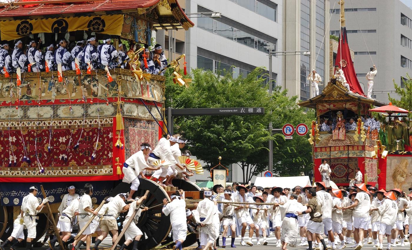 Resultado de imagen de festival gion matsuri 2019
