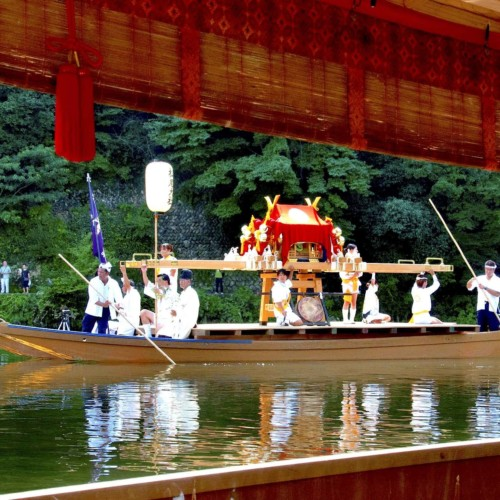 Hassaku Festival at Matsuno'o Taisha Shrine