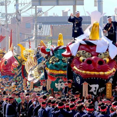 唐津宮日祭(唐津神社秋季例大祭)