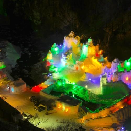 Sounkyo Onsen Hyoubaku Matsuri ~Sounkyo Hot Springs Ice Fall Festival~