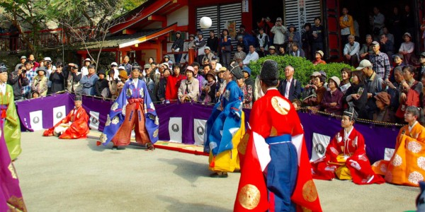 Tanzan Shrine Kemari Festival