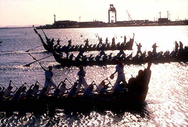 068 Re1 2 Naha Dragon Boat Race