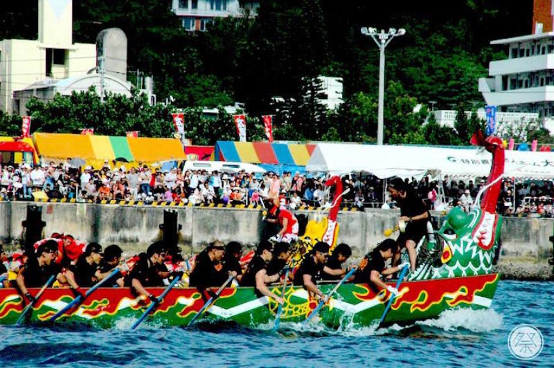 068 Re1 3 Naha Dragon Boat Race