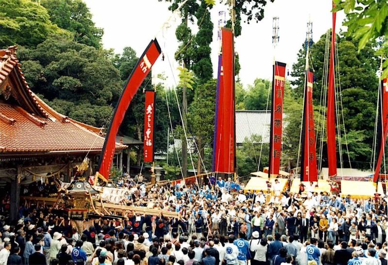 087 Re1 1 Okuma Kabuto Matsuri