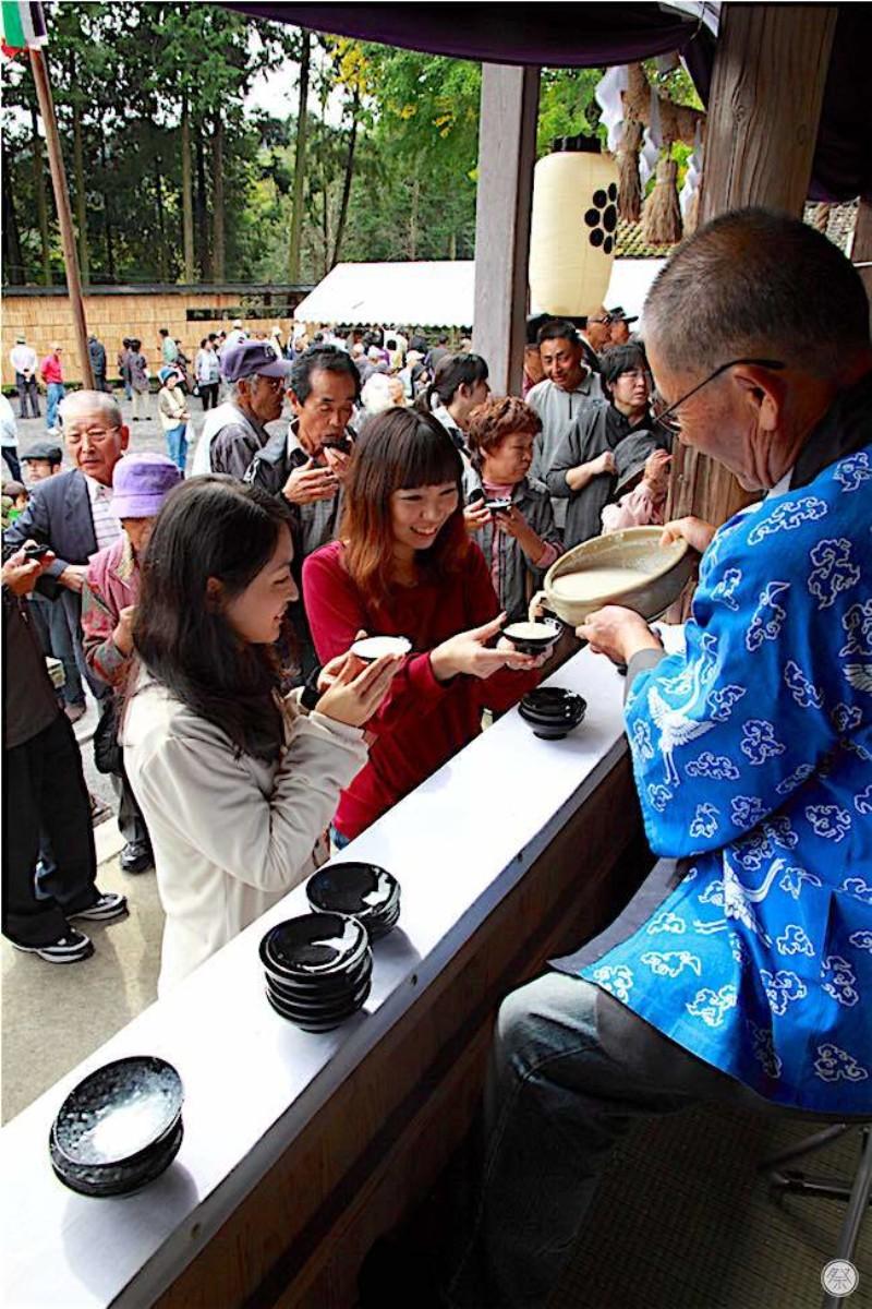 110 Re1 1 Shirahigetawara Shrine Doburoku Matsuri