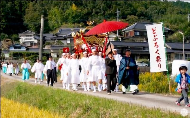 110 Re3 2 Shirahigetawara Shrine Doburoku Matsuri