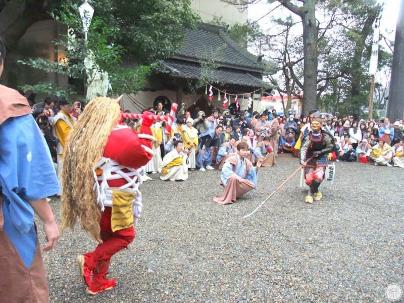 138 Re1 1 Toyohashi Oni Matsuri