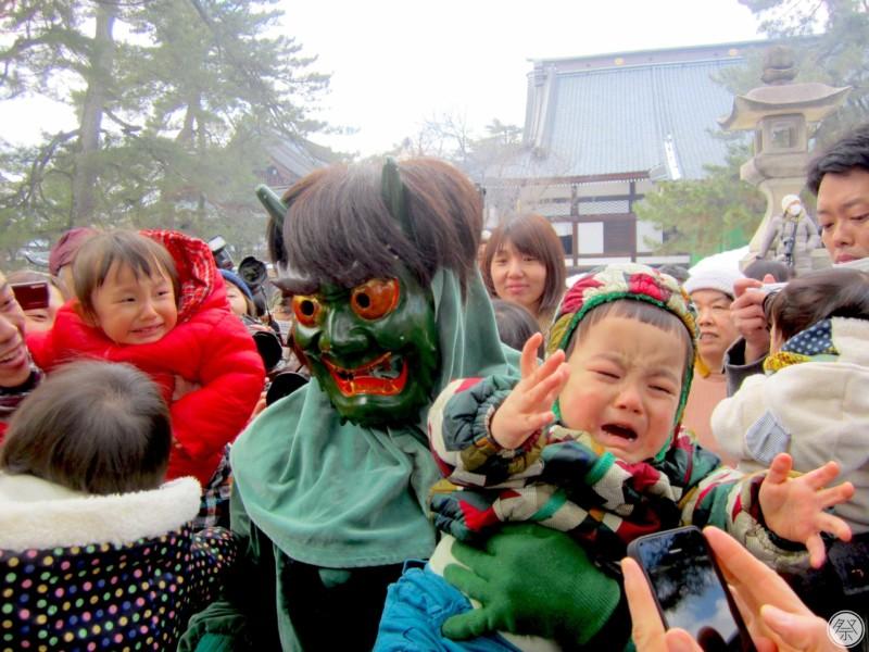 141 Reh Honjoji Ogre Dance