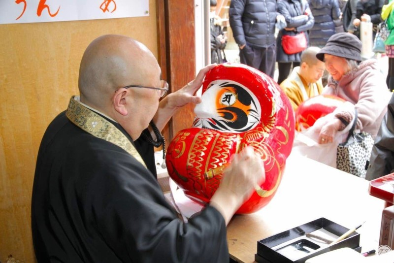150 Re2 1 Daruma Doll Fair At Ganzandaishi