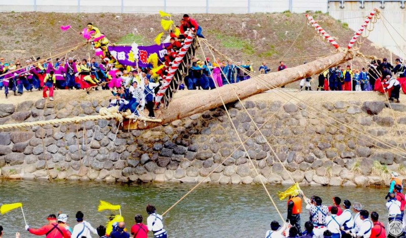 159 Re3 2 Suwa Taisha Shikinen Zouei Onbashira Taisai