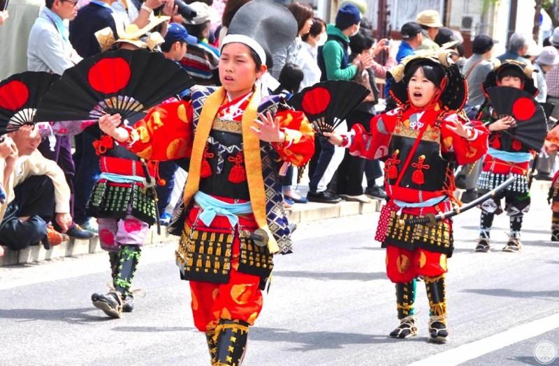 160 Re2 1 Matsue Warrior Procession