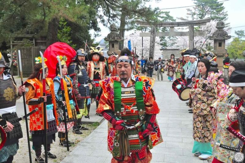 160 Re3 1 Matsue Warrior Procession