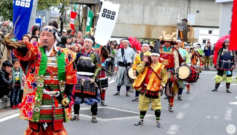 160 Reh Matsue Warrior Procession