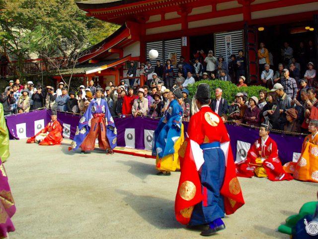 Tanzan Shrine Kemari Festival