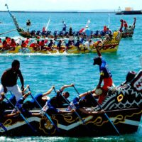 Naha dragon boat race